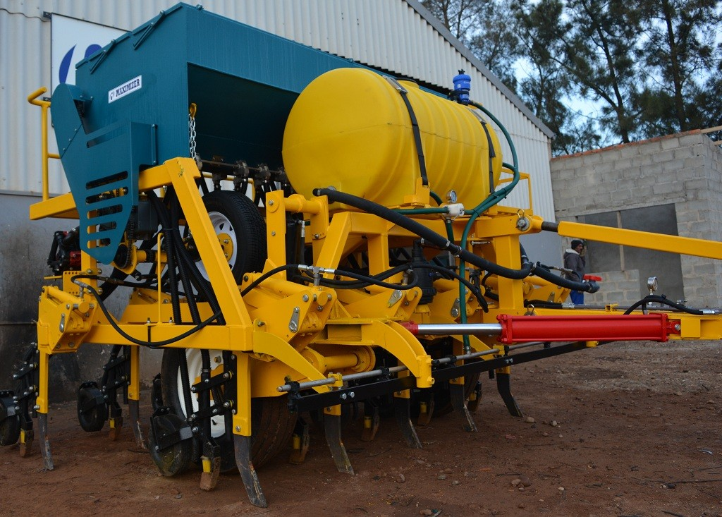 zerotill planting conservation tillage with spray system